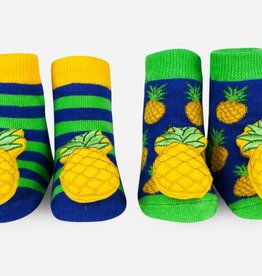 Waddle Pineapple Rattle Socks