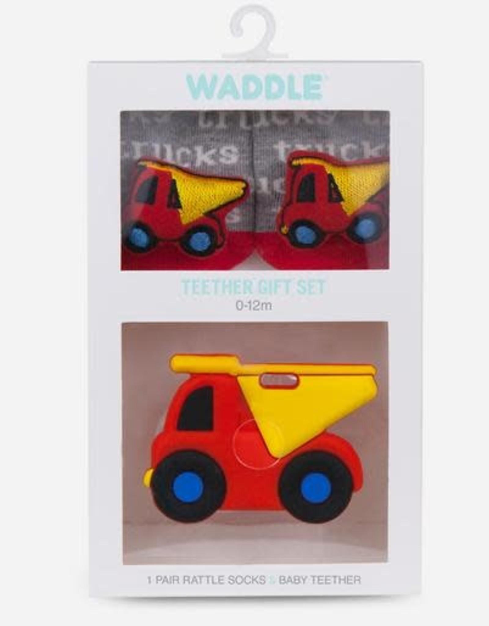 Waddle Truck Teether Gift Set