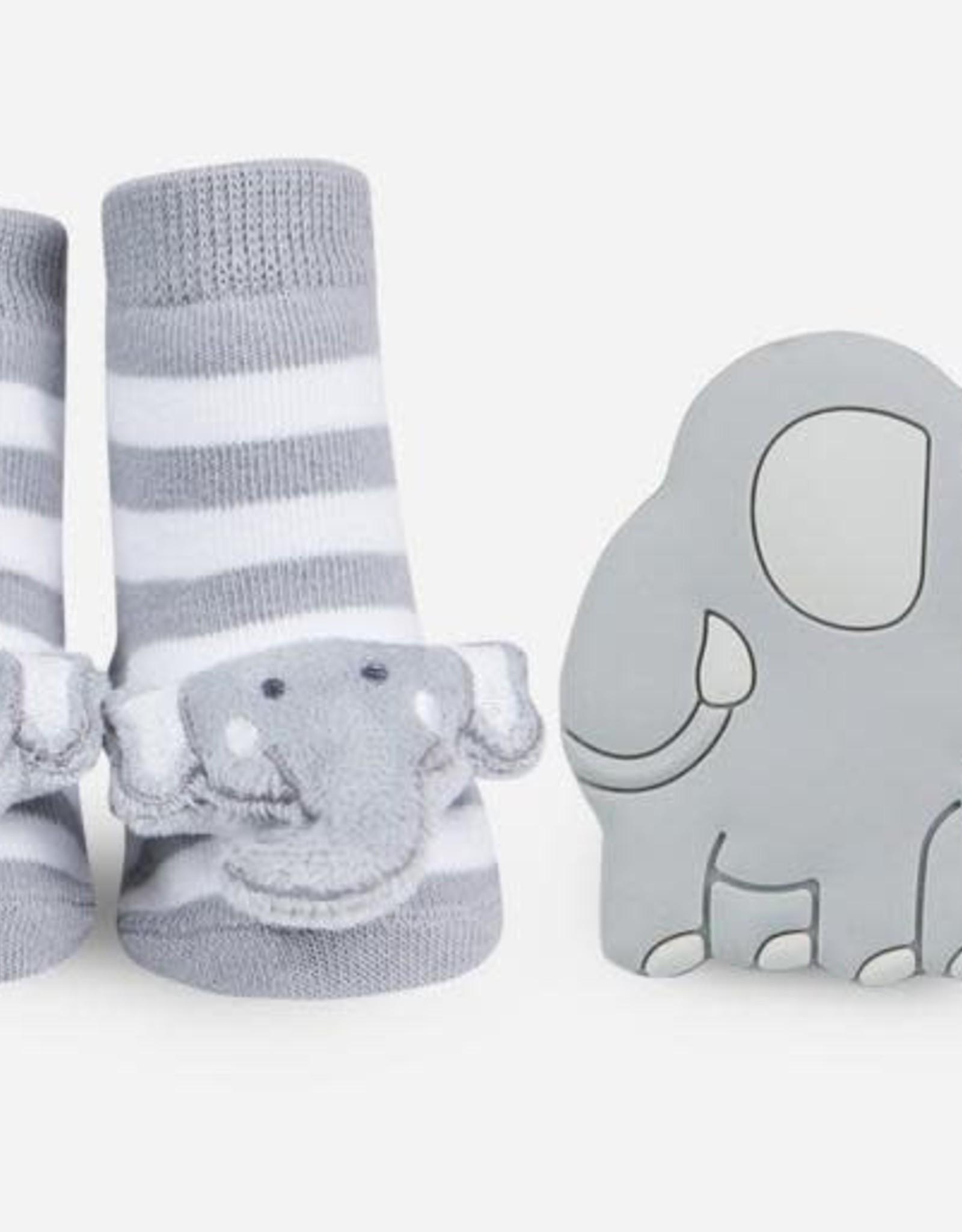 Elephant Teether Gift Set