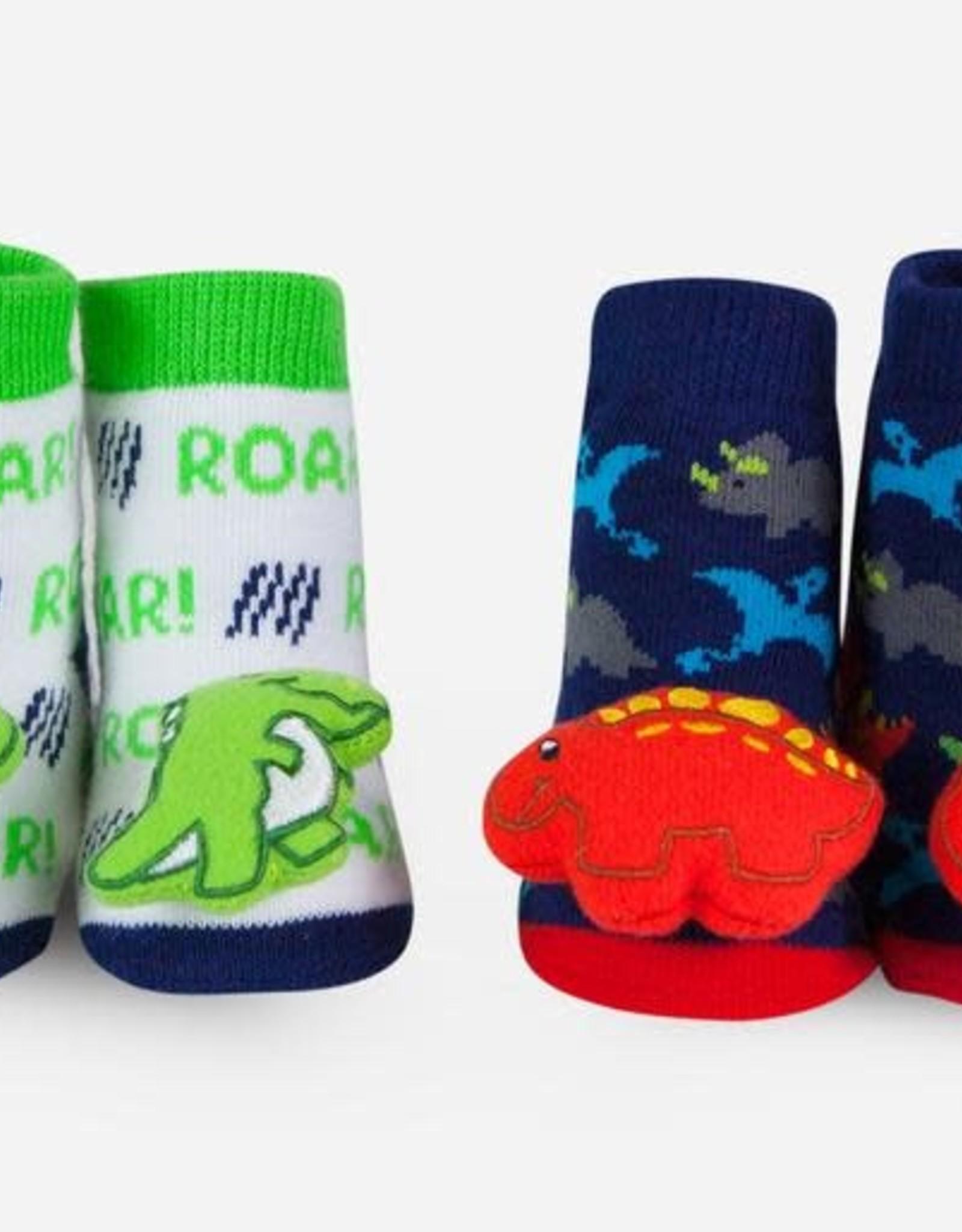Waddle Dino Rattle Socks