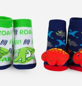 Waddle Dino Rattle Socks