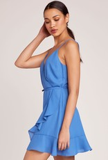 Jack Sparkle Blue Wrap Dress