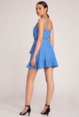 Jack Sparkle Blue Wrap Dress