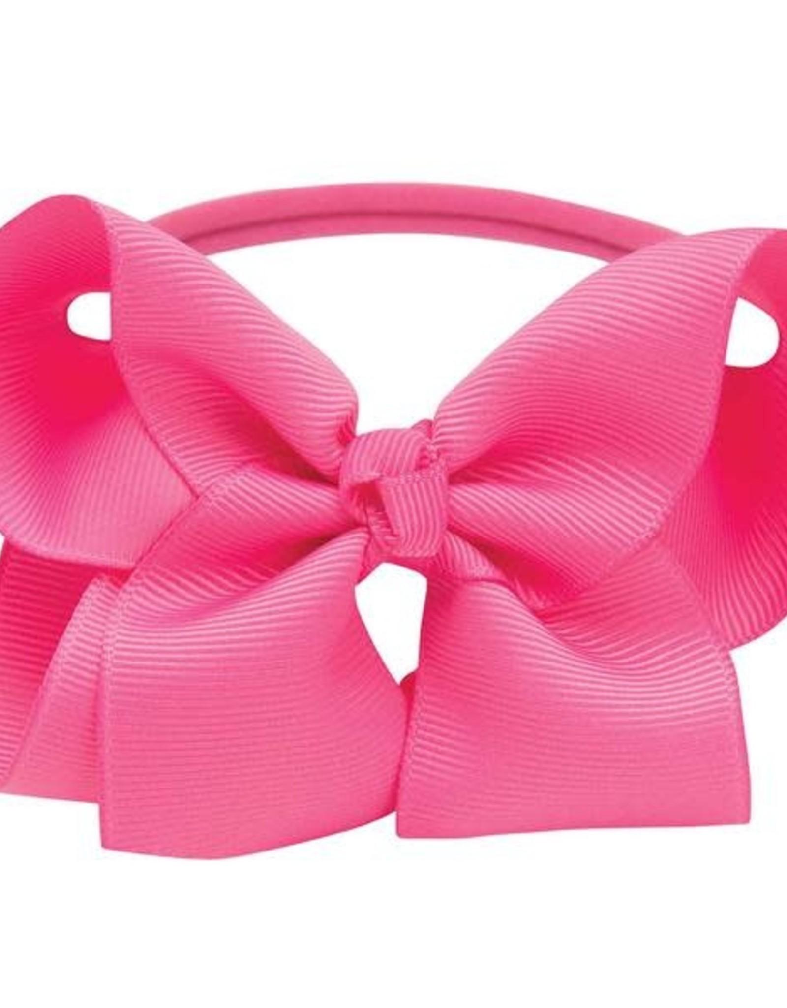 Elegant Baby Med Bow Hot Pink