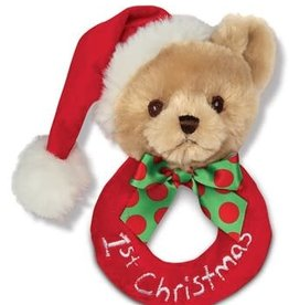 Bearington 1st Christmas Rattle