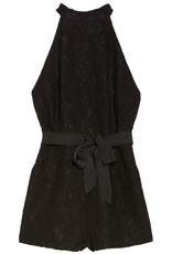 BB Dakota Black Lace Romper