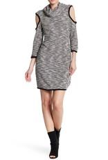 Jack Blk Cold Shoulder Dress