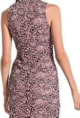 Black Swan Pink Lace Sheath