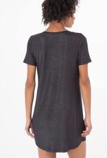 Z Supply Black Shimmer Pocket Dress