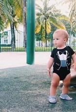 Sara Kety Onesie Tiny Tux 12-18 Months Black