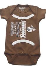 Sara Kety Onesie DLF 12-18 Months Brown