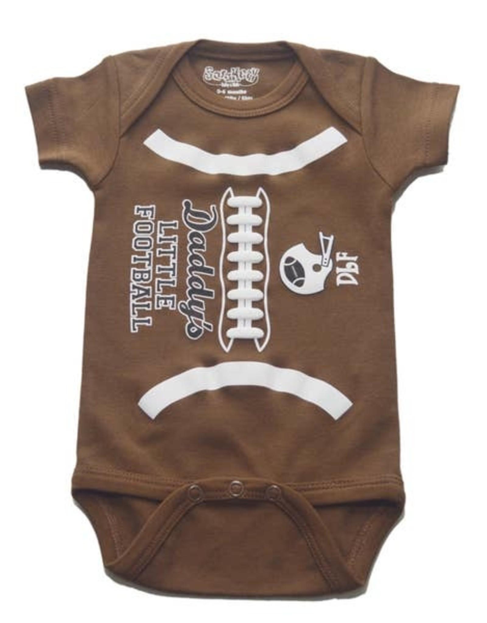 Sara Kety Onesie DLF 6-12 Months Brown