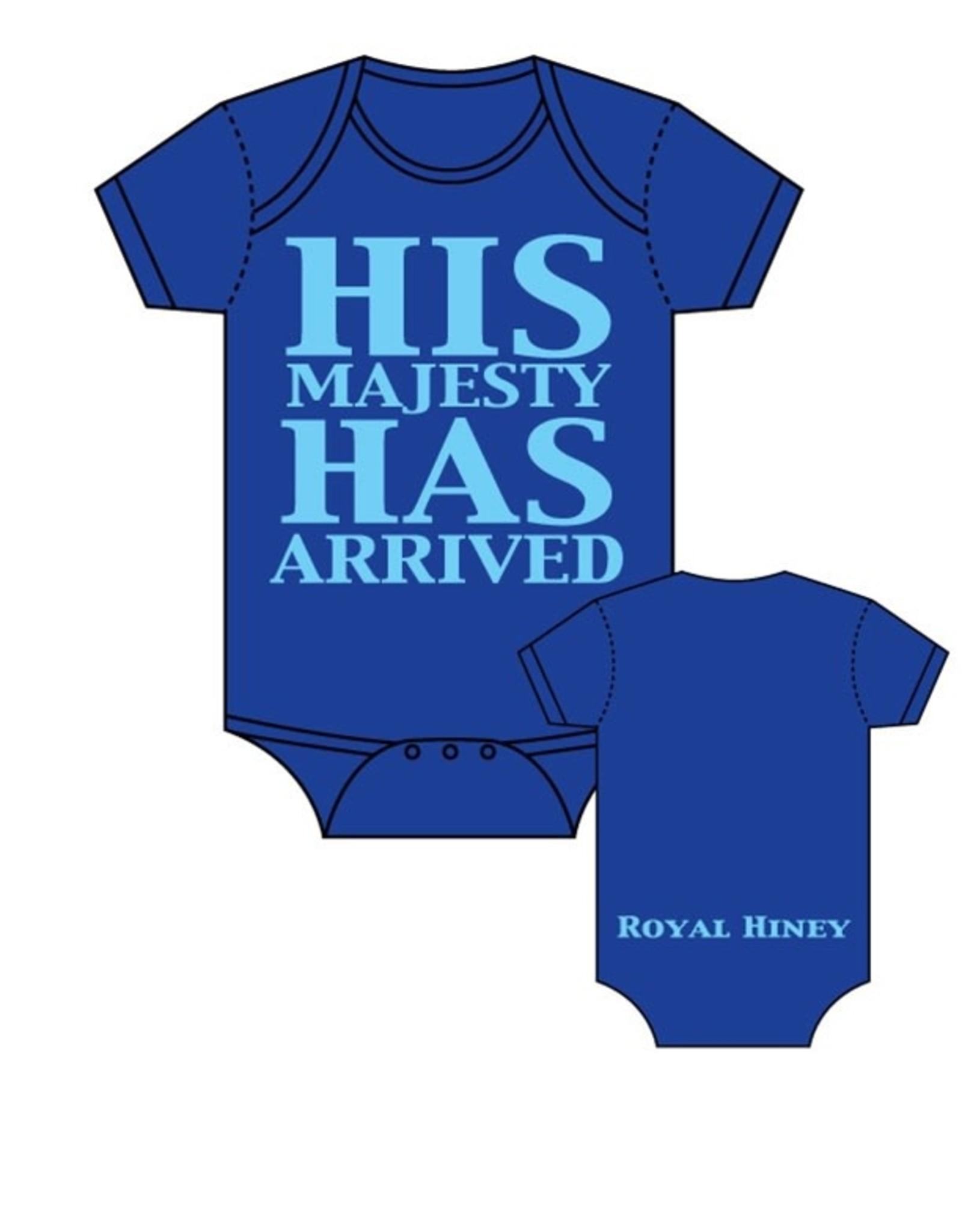 Sara Kety Onesie His Majesty 12-18 Months Blue