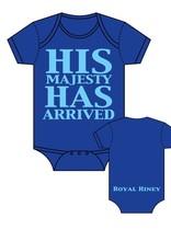 Sara Kety Onesie His Majesty 6-12 Months Blue