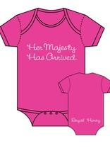 Sara Kety Onesie Her Majesty 0-6 Months Hot Pink