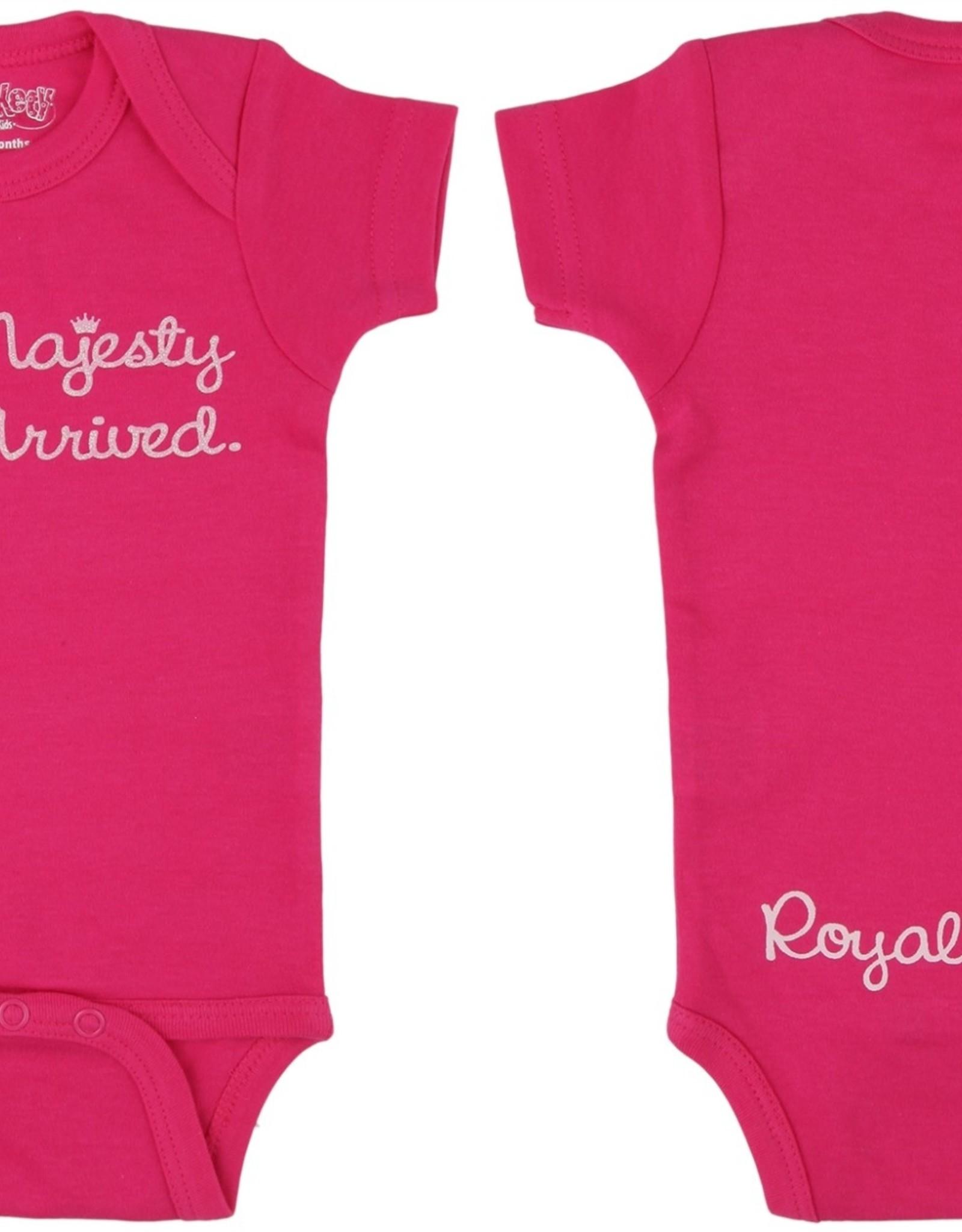 Onesie Her Majesty 0-6 Months Hot Pink