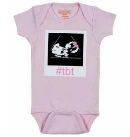 Sara Kety Onesie #TBT Girl 12-18 Months Pink