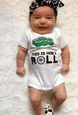 Sara Kety Onesie Soy Cute 12-18 Months Wht