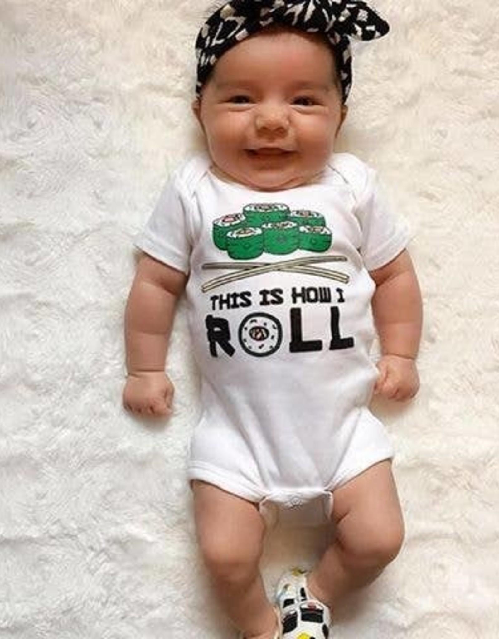 Sara Kety Onesie Soy Cute 6-12 Months Wht