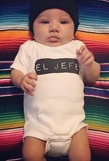 Sara Kety Onesie El Jefe 12-18 Months Wht