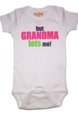 Sara Kety Onesie But Grandma Lets Me Girl 12-18 Months