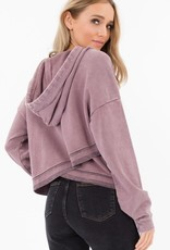Others Follow Mauve Hoodie
