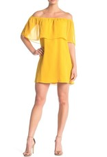 BB Dakota Off-the-Shoulder Mimosa Ruffle Dress