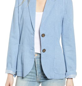 BB Dakota Chambray Blazer