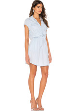 Jack Chambray Tie-Front Dress