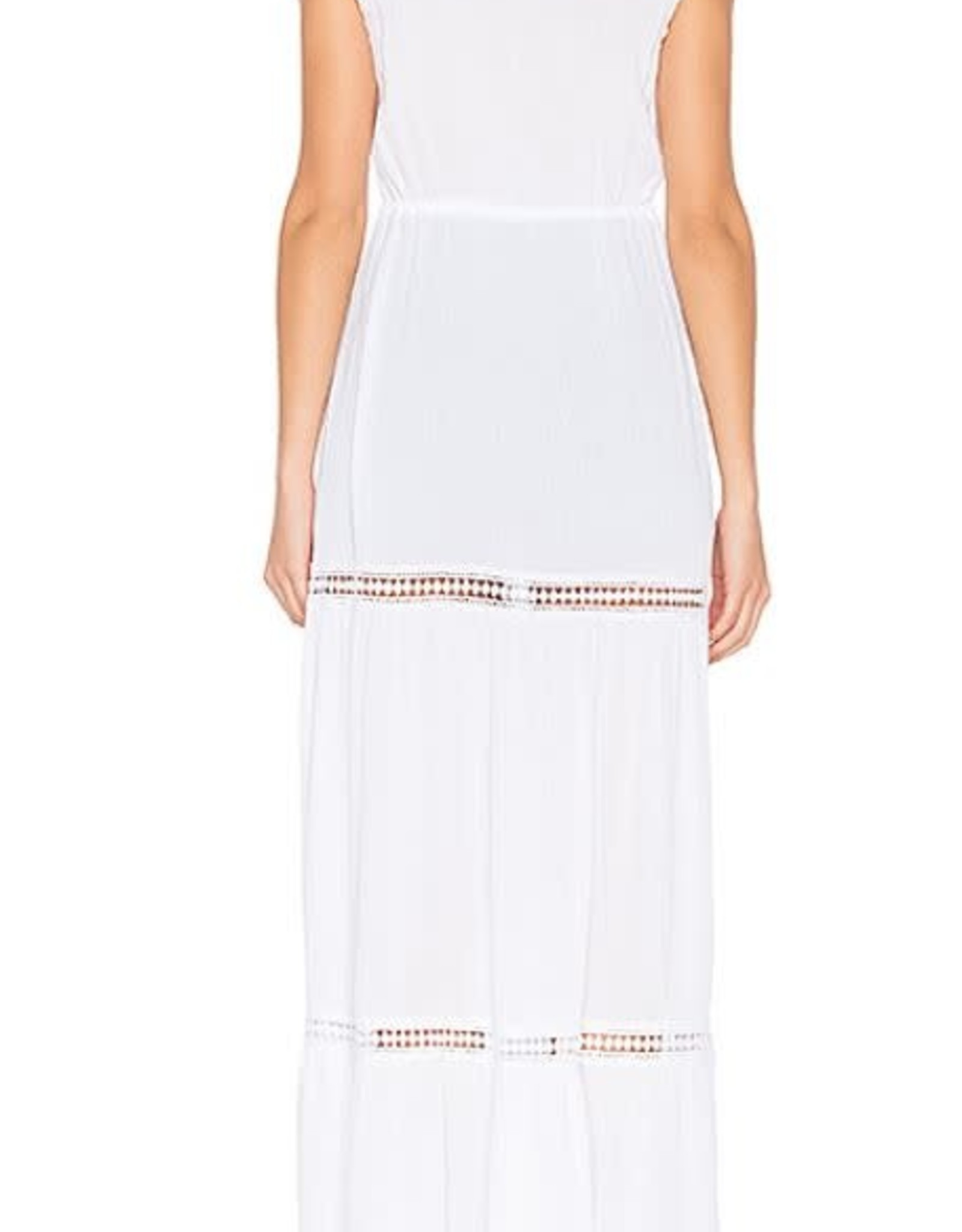 Jack Long  White Vest/Coverup