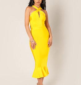 Wow Mermaid Bandage Yellow