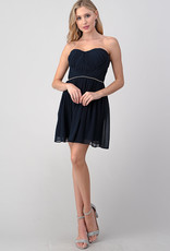Minuet Tube Fit & Flare Navy