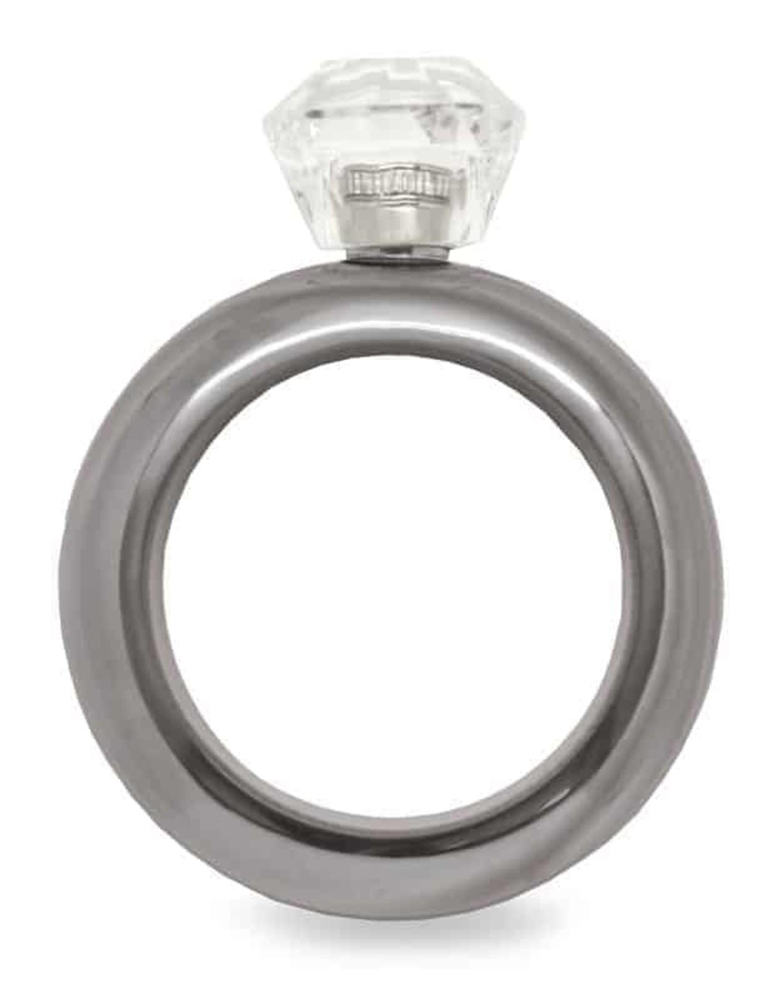 Wild Eye Bracelet Flask - Silver