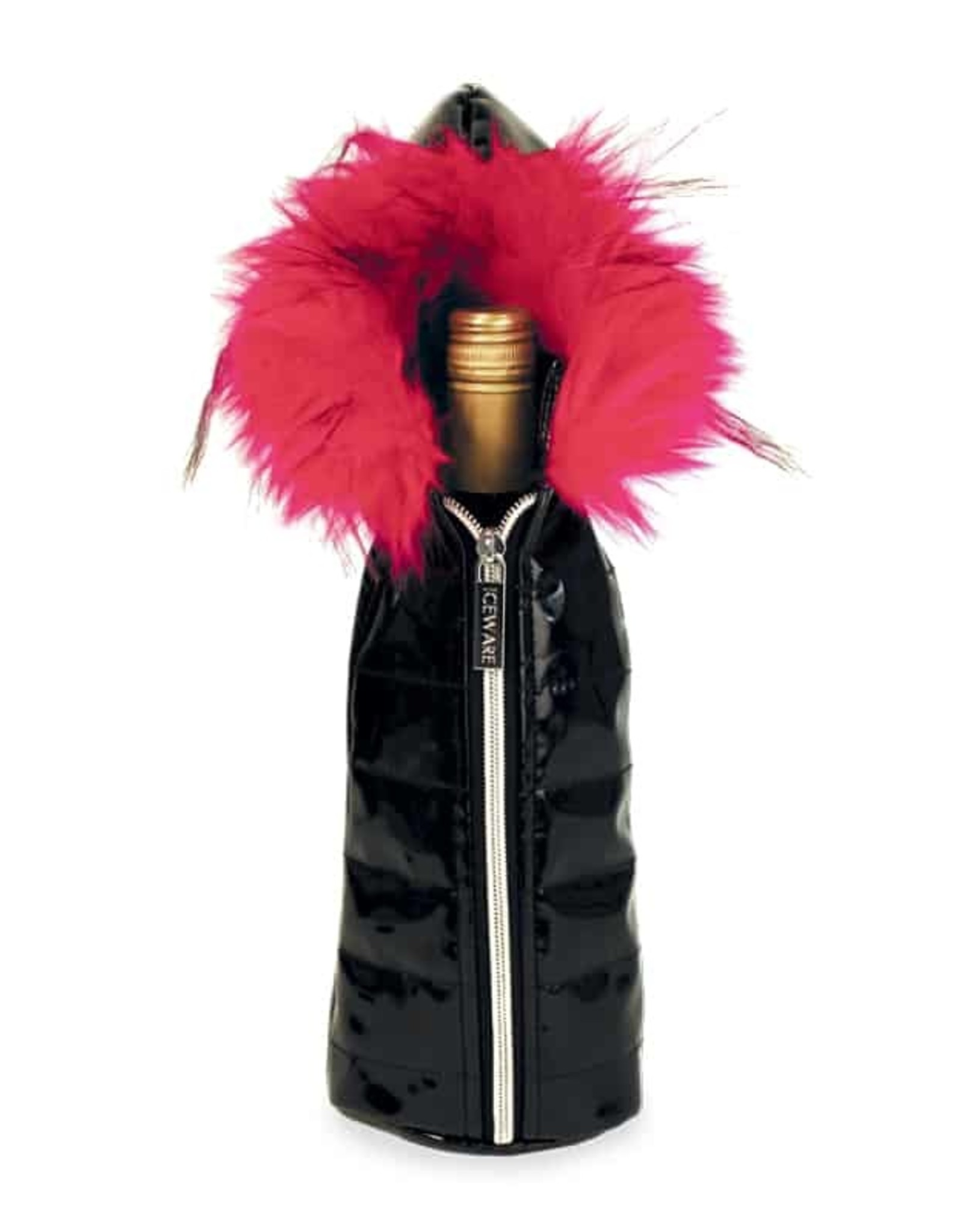 Wild Eye Wine Parka - Pink Fur