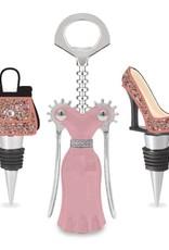 Wild Eye Fashion Wine Set - Champagne Confetti
