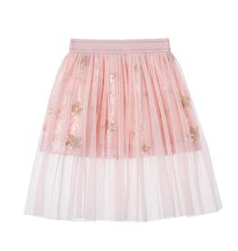 Doe a Dear Pink Sequin Star Skirt