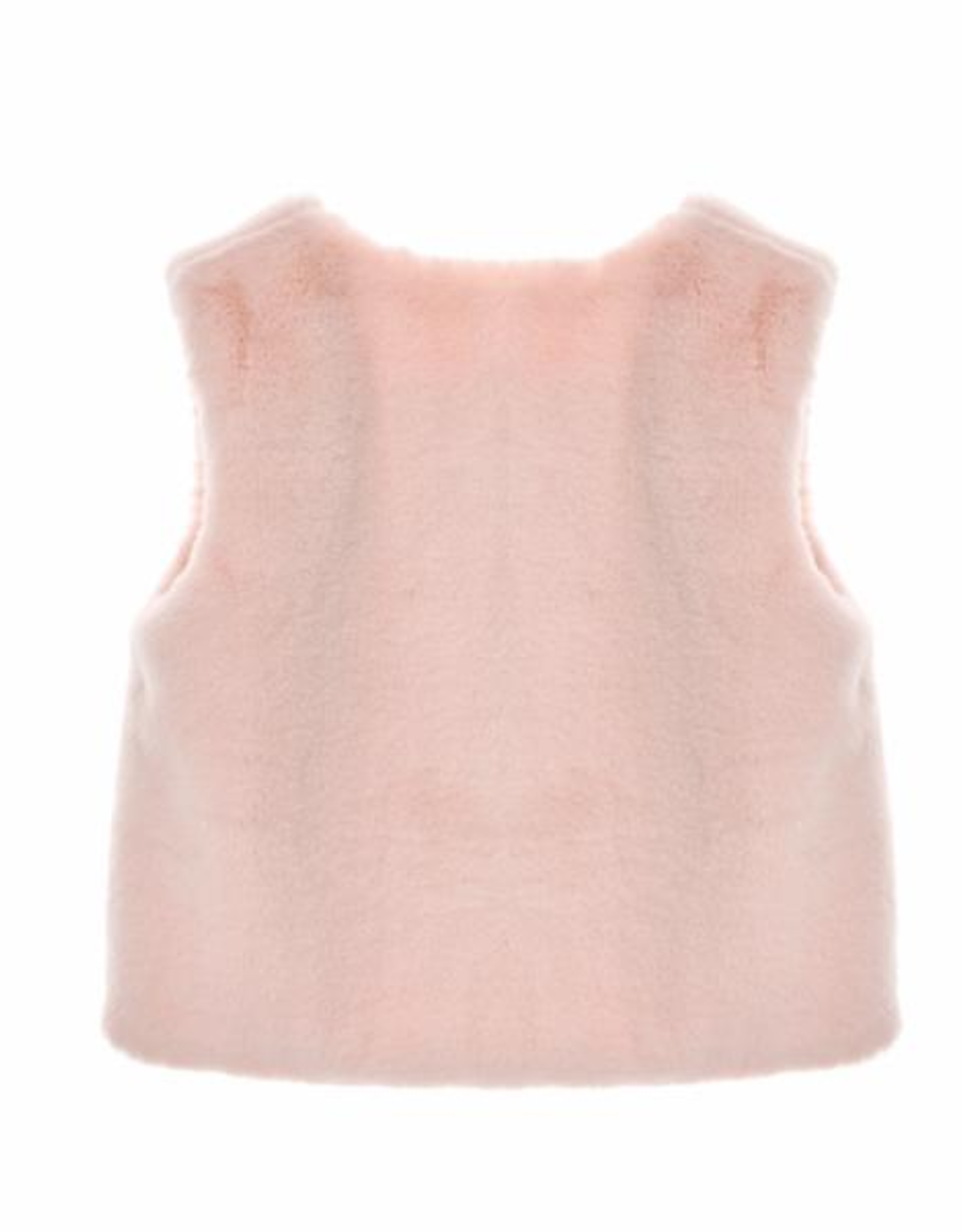 Doe a Dear Pink Fur Vest