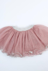 Doe a Dear Tulle Tutu with Silver Bows