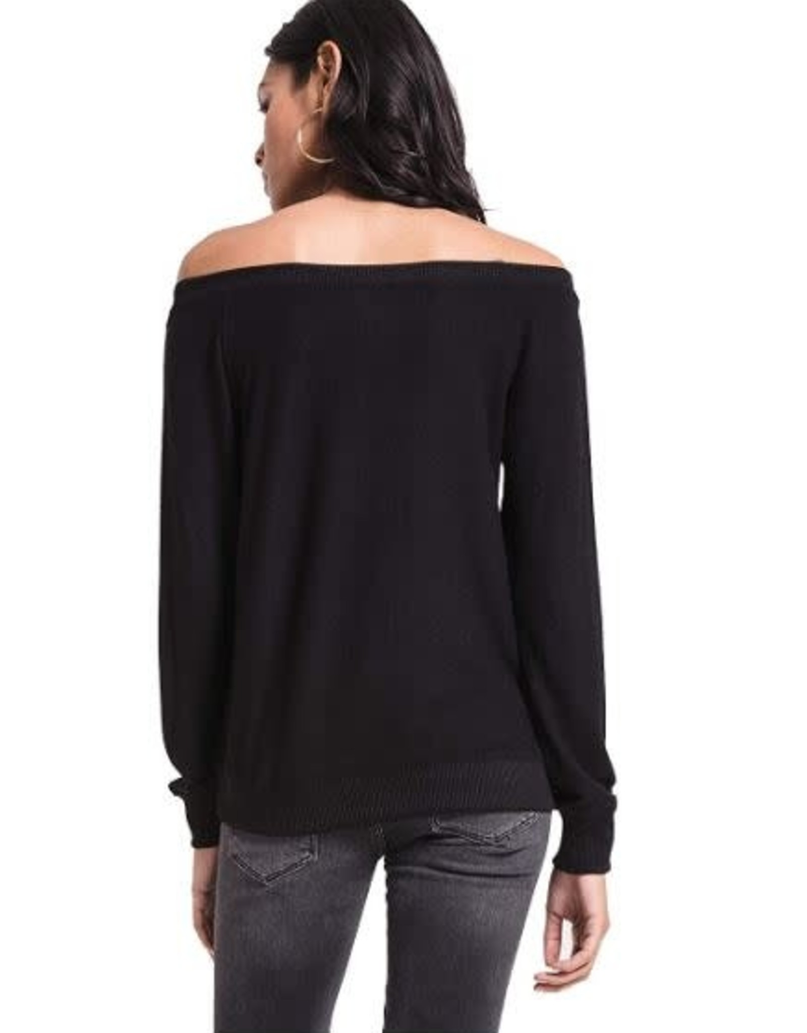 Z Supply Marled Off Shoulder