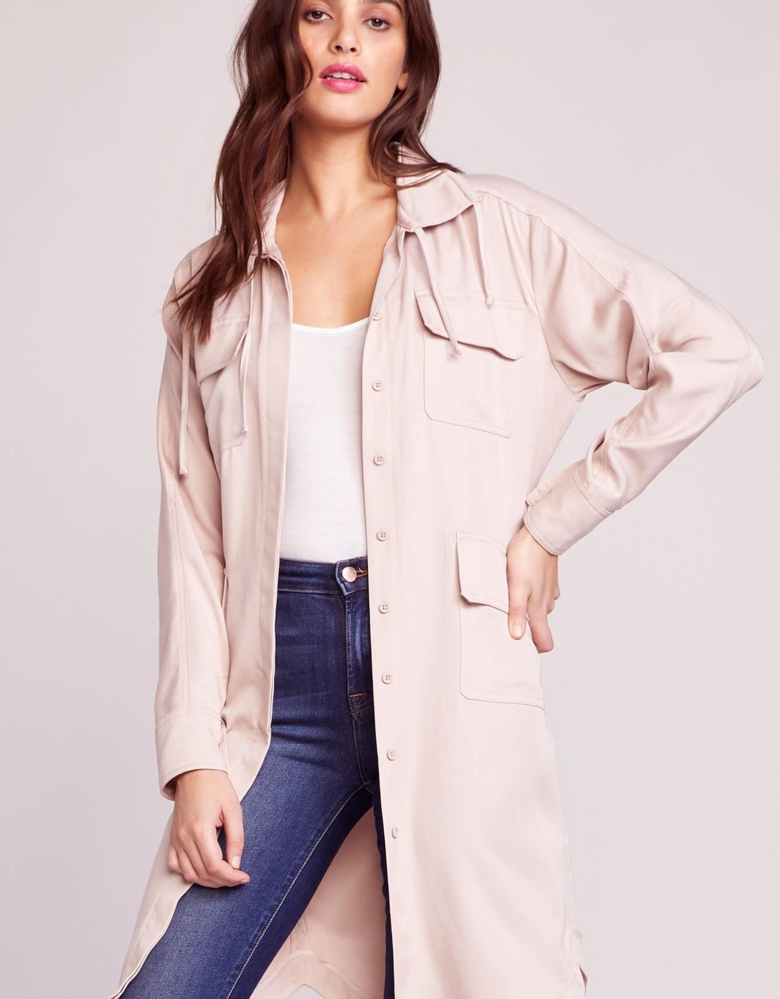 BB Dakota Parchment Shirt Coat