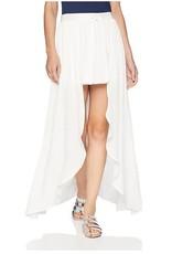 Jack White Tie Front Skirt