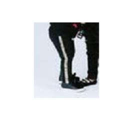 Doe a Dear Side Sequin Legging - Silver