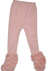 Ciao Milano Pink Blush Pant with Fur Ankle