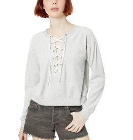 BB Dakota Lace-Up Sweatshirt H Grey