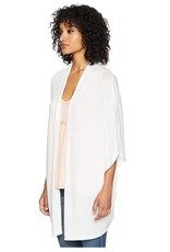 BB Dakota Soft White 3/4 Dolman Sleeve Cardigan