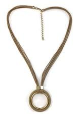 Gold/Beige Necklace