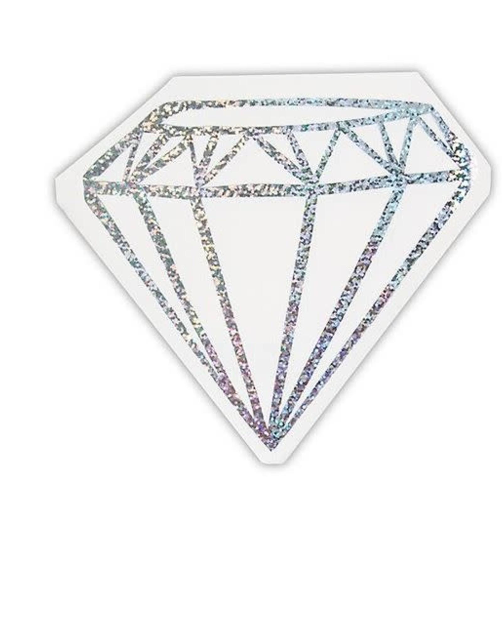 Slant Metallic Diamond Napkin 20ct