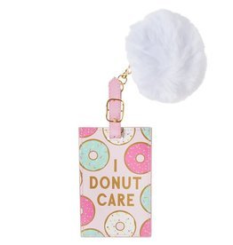 Slant Luggage Tag I Donut Care
