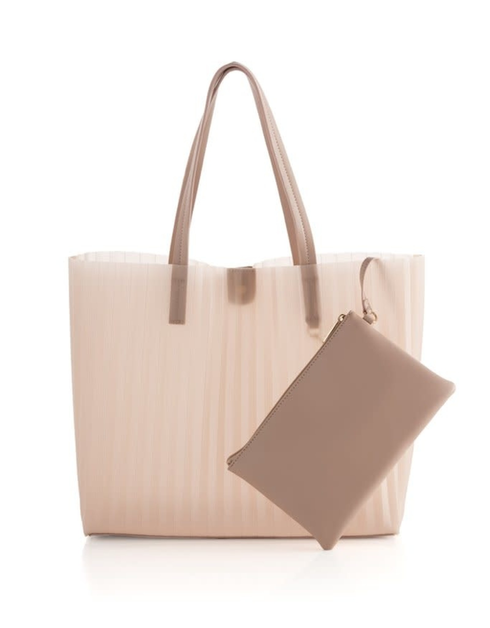 Rose Tote with Zip Pouch