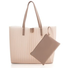 Shiraleah Rose Tote with Zip Pouch